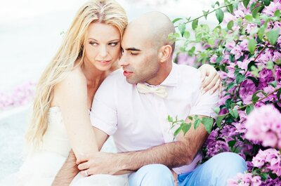 Não perca o lindíssimo e romântico casamento na praia da Natalie e do Ricardo