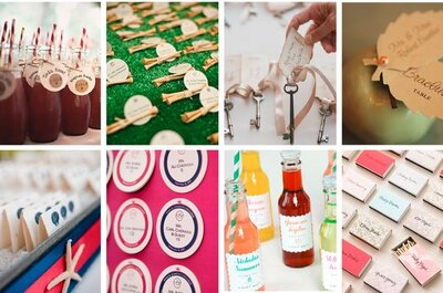 5 pomysłów na kreatywne winietki ślubne, pasujące do tematu przewodniego waszego wesela.