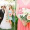 Real Wedding: La boda más romántica en una granja con lindos toques de color - Foto Lisa Lefkowitz