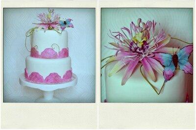 Pasteles de Boda: Té + Maggie Austin Bakes, una combinación que promete