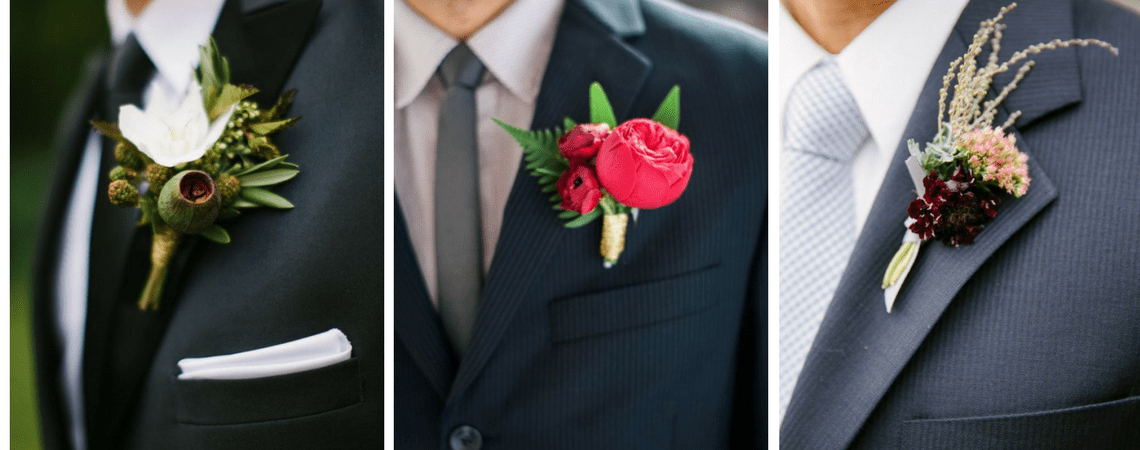 A Fashion Statement for Him: The Best Boutonnières for The Groom