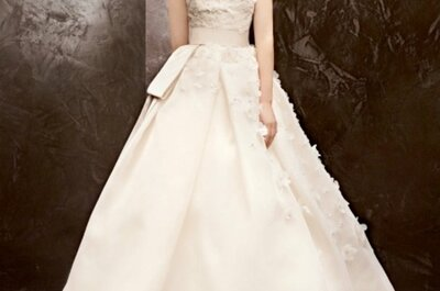 Vera Wang 'low cost': colecção White para David's Bridal Outono 2013