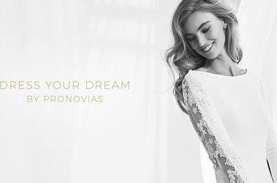 Futures mariées, essayez votre robe à la boutique Pronovias du 8e arrondissement de Paris