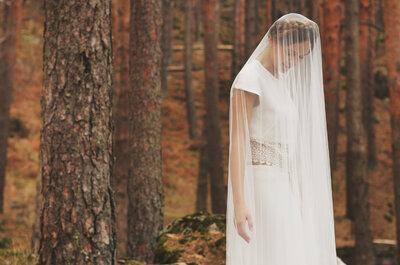 Vestido de dos piezas: la tendencia de novia que llega para quedarse
