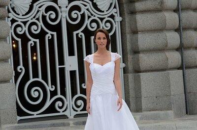 L'élégance au coeur de la nouvelle collection de robes de mariée 2014 de Catherine Varnier