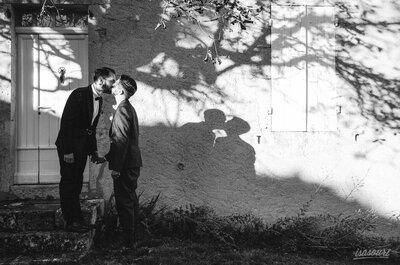 Le mariage émouvant de Ben et Nico, un couple attachant placé sous le signe du destin