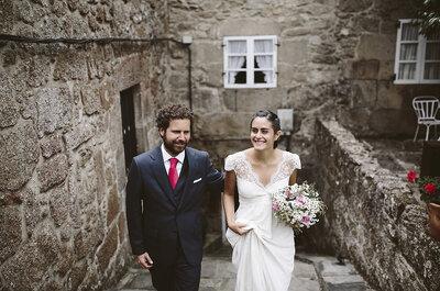 Perdidamente enamorados: la boda de Clara y Juan