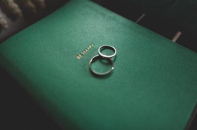 Anillos de matrimonio originales: 12 alianzas  únicas