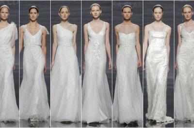 Rosa Clará 2014: vestidos para novias clásicas y modernas