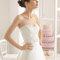 Luce súper estilizada el día de tu boda
