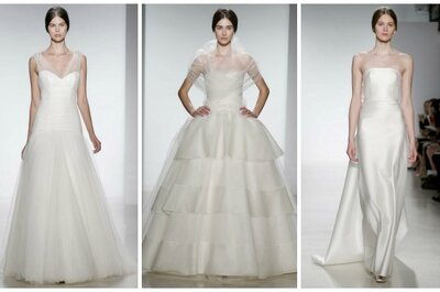 Amsale Spring 2014 Wedding Dresses: Stepping Outside Her Norm
