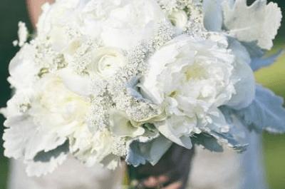 Winterhochzeit: Die 10 schönsten weißen Brautsträuße