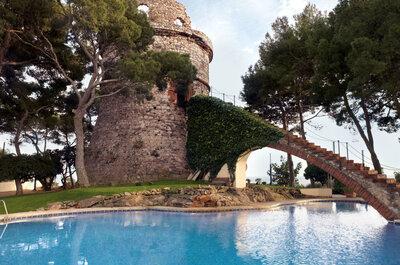 Celebra una boda rústica o urbana en un lugar versátil como el Gran Hotel Rey Don Jaime