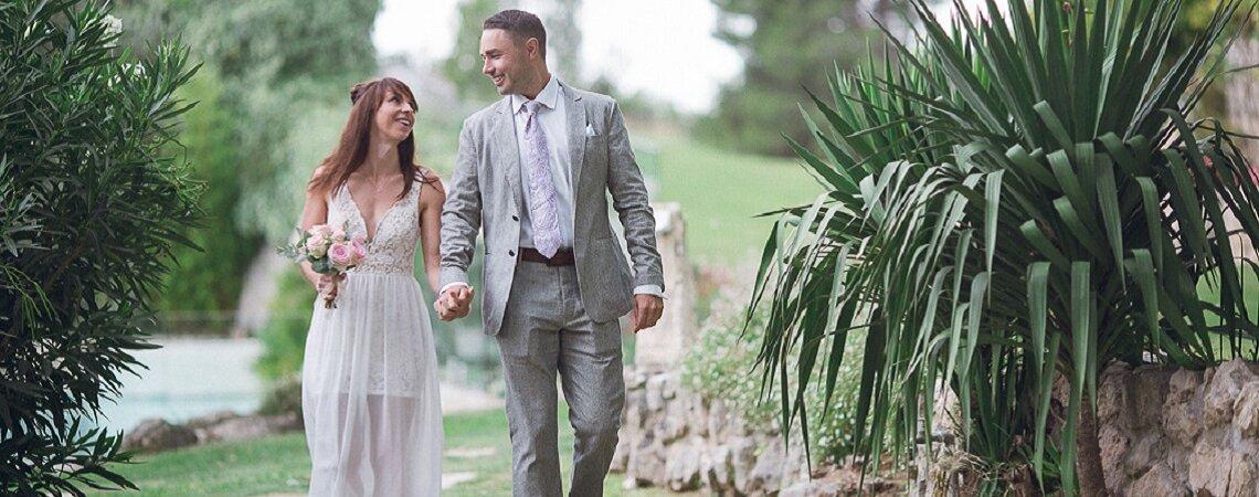 Elopement wedding : Le superbe mariage en toute intimité de Shea et Dave en Provence !