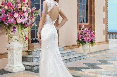 Vestidos de novia Sincerity Bridal 2015: Modelos que son un sueño hecho realidad con siluetas sublimes