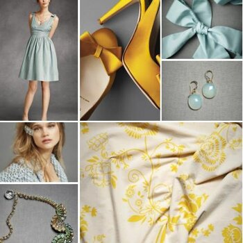 Blue & Yellow Wedding Inspiration