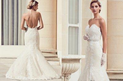 Filez à l'avant-première des collections de robes de mariée 2017 Priam Paris