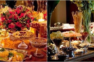 Buffets clássicos de São Paulo para um casamento saboroso e inesquecível