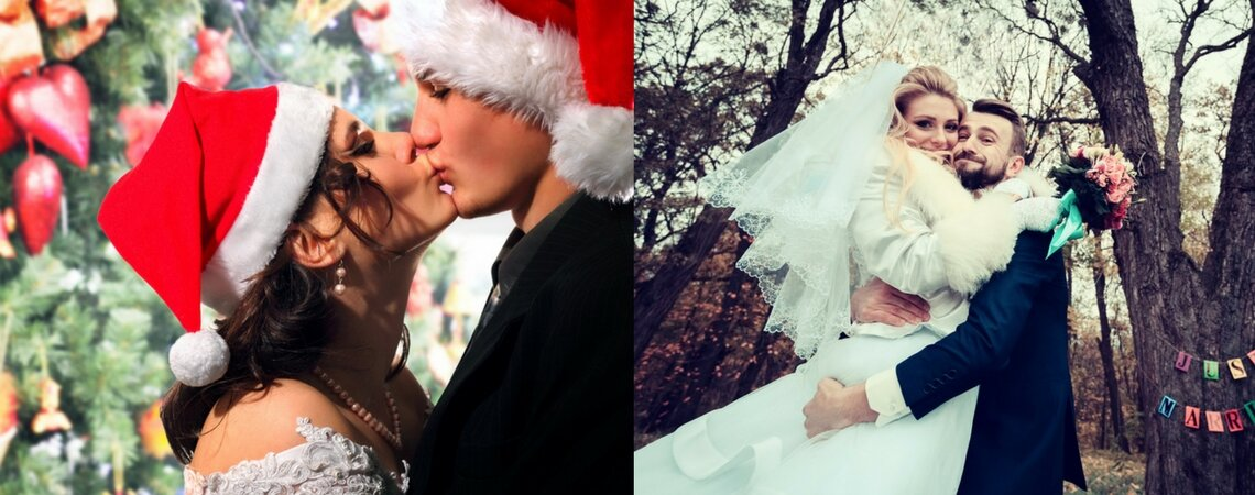 The Pros and Cons of having a Christmas Wedding