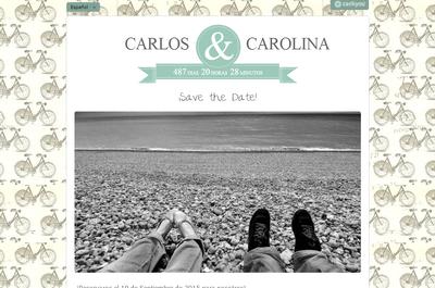 Una web gratis para tu boda