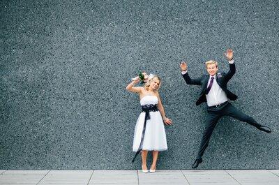 Himmlische Hochzeit im Münchner Standesamt – Alexandra & Phillip auf Wolke 7!