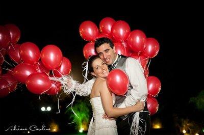 Mira esta romántica boda del otro lado de la cordillera