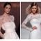 Vestido de novia primavera 2015 con mangas largas