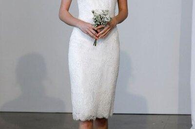 Los 70 vestidos de novia con escote ilusión más románticos de la temporada
