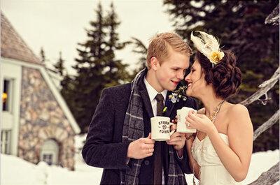 4 DIY chics et simples pour un mariage en hiver
