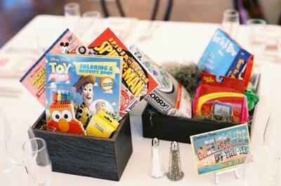 Juegos, pinturas y regalos: Todo lo que debe tener el banquete de tu boda para los más peques