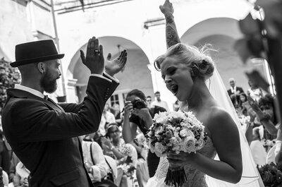 Serena e Denny: il perfetto matrimonio Rockabilly