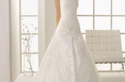 Koronkowe suknie ślubne z kolekcji TWO by Rosa Clara 2013