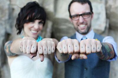 Tattoo al dito, al posto della fede nuziale: una tendenza irresistibile!