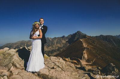 Sesja ślubna w Tatrach wygląda bajecznie! Zobacz sama!