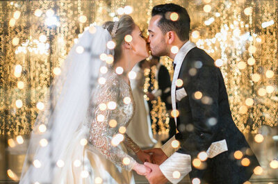 O casamento mais LINDO de 2016 publicado no Zankyou: festa clássica e luxuosa de Gabriela & Caio!