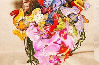 Idées de bouquets de mariage sans fleurs