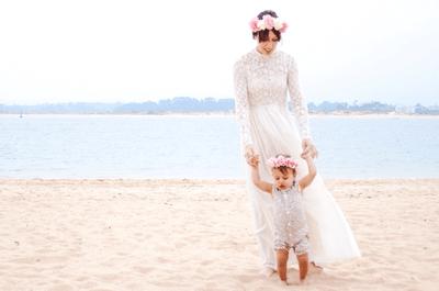 Especial Zankyou: um delicioso ensaio de noiva na praia para os dia das mães