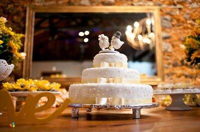 Las 9 mejores empresas de ponqués de Bogotá que endulzarán tu boda