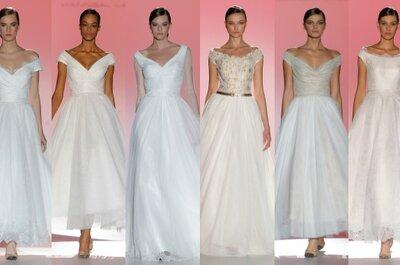 Tendencias 2015: Vestidos de novia de hombros caídos