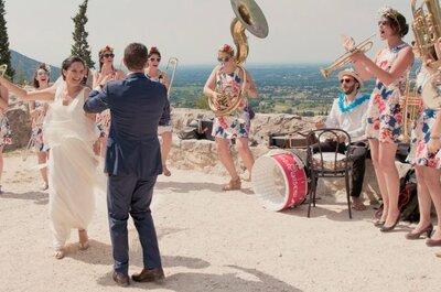 Mathilde et Olivier : Un coup de foudre à l'aéroport et un mariage sous le soleil de Provence