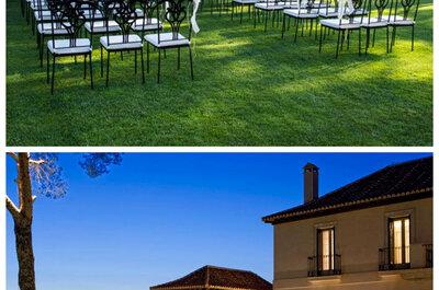 9 fincas de Madrid con los mejores jardines para celebrar una boda