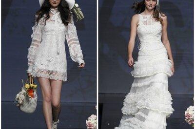 Buscá tu vestido de novia y civil según tu estilo. 10 propuestas