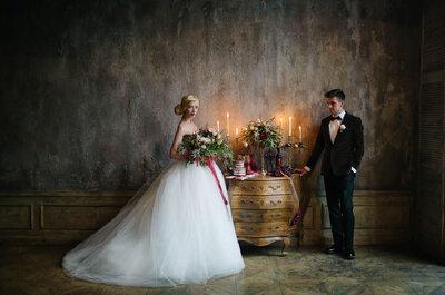 Трендовый цвет - марсала - на вашей свадьбе!