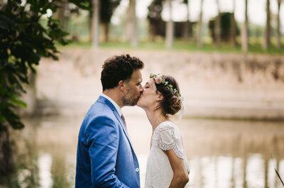 Una espectacular boda rústica: el gran día de Serena y Niall