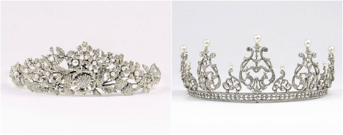 Tiaras and Crowns: Royal Headwear for your Wedding