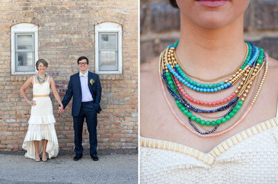 Tendencias en bodas: Accesorios de color, ¿sí o no?