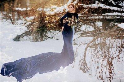 Как создать идеальный зимний образ невесты? Читаем советы экспертов!