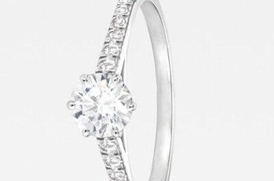 Zauberhafte Verlobungs- und Eheringe von 77 Diamonds