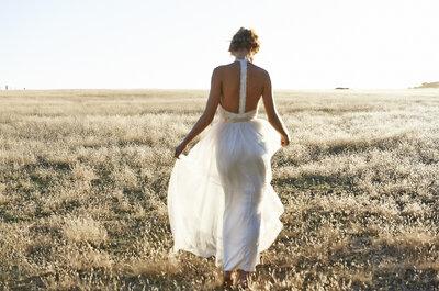 ¿Quieres lucir tus hombros y espalda durante el día de tu matrimonio? ¡Descubre las más hermosas propuestas!