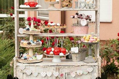 40 idées de buffets de desserts à croquer pour donner une delicieuse saveur à votre mariage